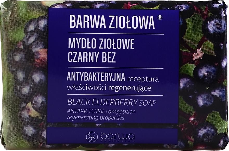 "Szappan ""Bodza "" - Barwa Black Elderberry Soap"