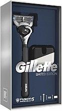 Parfüm, Parfüméria, kozmetikum Készlet - Gillette Fusion5 ProShield Chill (borotva/1db + borotvatartó)
