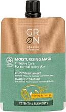 Parfüm, Parfüméria, kozmetikum Arcmaszk - GRN Essential Elements Honey & Hemp Cream Mask