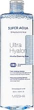 Parfüm, Parfüméria, kozmetikum Hidratáló micellás víz - Missha Super Aqua Ultra Hyalon Micellar Cleansing Water