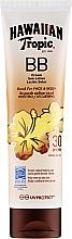 Parfüm, Parfüméria, kozmetikum Napvédő lotion - Hawaiian Tropic BB Cream Sun Lotion Face And Body Spf30