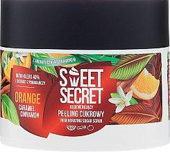 "Parfüm, Parfüméria, kozmetikum Regeneráló peeling ""Narancs"" - Farmona Sweet Secret Orange"