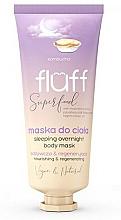 Parfüm, Parfüméria, kozmetikum Testmaszk - Fluff Superfood Kombucha Sleeping Overnight Body Mask