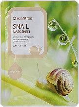 Parfüm, Parfüméria, kozmetikum Szövetmaszk, csiga kivonattal - Seantree Mask Sheet Snail