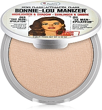 Parfüm, Parfüméria, kozmetikum Higlighter, shimmer és szemhélyfesték - theBalm Bonnie-Lou Manizer Highlighter & Shadow (teszter)