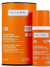 Parfüm, Parfüméria, kozmetikum Napvédő fluid érzékeny bőrre - Bella Aurora Solar Anti-Stain Sensitive Skin SPF50+
