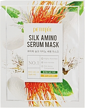 Parfüm, Parfüméria, kozmetikum Arcmaszk selyem proteinnel - Petitfee&Koelf Silk Amino Serum Mask