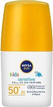 Parfüm, Parfüméria, kozmetikum Gyerek napvédő stift - Nivea Sun Kids Protect & Sensitive Roll-on SPF50
