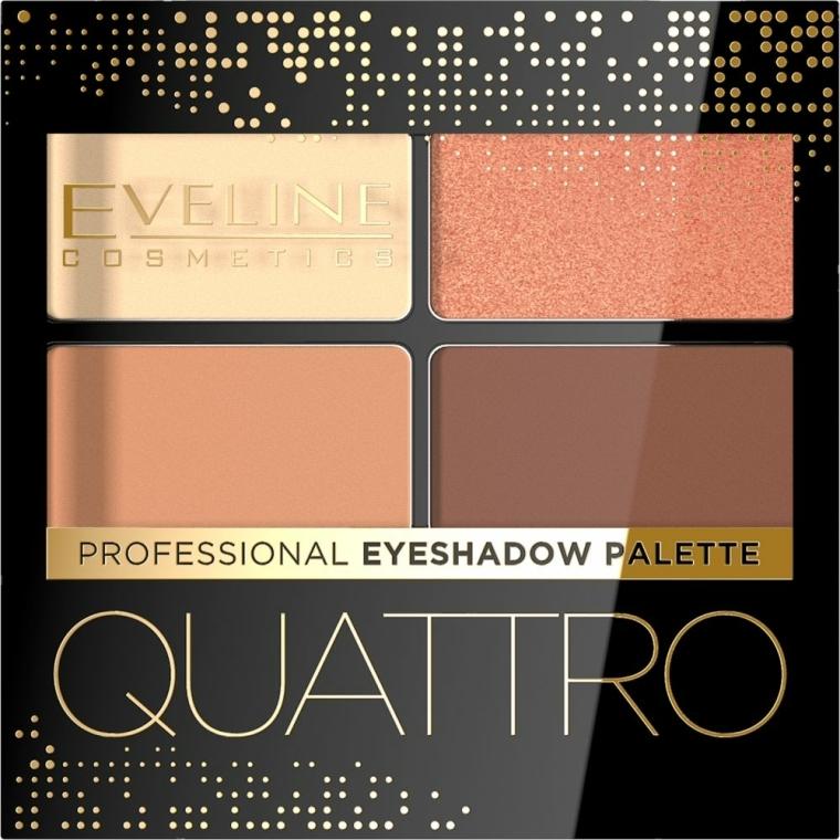 Szemhéjfesték - Eveline Cosmetics Quattro Professional Eyeshadow Palette