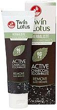 Parfüm, Parfüméria, kozmetikum Fehérítő fogkrém bambusz szénnel - Twin Lotus Herbaliste Active Charcoal Toothpaste