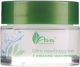 Parfüm, Parfüméria, kozmetikum Hidratáló krém hialuronsavval - AVA Laboratorium Ultra Moisturizing Hyaluronic Cream