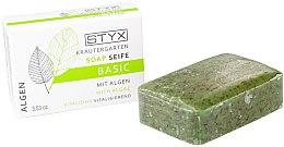 """Parfüm, Parfüméria, kozmetikum Szappan """"Tengeri algák"""" - Styx Naturcosmetic Basic Soap With Algae"""