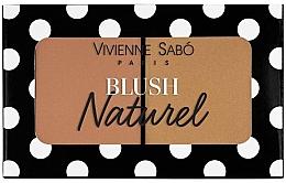 Parfüm, Parfüméria, kozmetikum Dupla arcpirosító - Vivienne Sabo Naturel Blush Duo