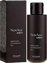Parfüm, Parfüméria, kozmetikum Borotválkozás utáni nyugtató gél - Oriflame NovAge Men Soothing Aftershave Gel