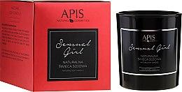 Parfüm, Parfüméria, kozmetikum Natúr szójagyertya - APIS Professional Sensual Girl Soy Candle