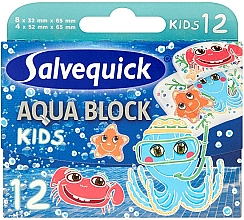 Parfüm, Parfüméria, kozmetikum Tapasz gyermekeknek - Salvequick Aqua Block Kids Slices