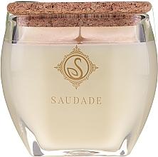 "Parfüm, Parfüméria, kozmetikum Illatosított gyertya ""Fenyő cédrus"" - Essencias De Portugal Senses Saudade Pine Cedar Candle"