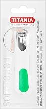 Parfüm, Parfüméria, kozmetikum Körömcsipesz krómozott, fehér zöldeel - Titania