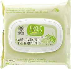 Parfüm, Parfüméria, kozmetikum Sminklemosó törlőkendő fehér szőlő kivonattal - Ekos Personal Care