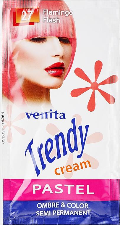 Tonizáló hajszínező krém - Venita Trendy Color Cream (tasak)