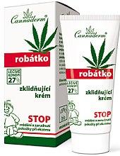 Parfüm, Parfüméria, kozmetikum Nyugtató krém érzékeny bőrre - Cannaderm Robatko