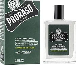 Parfüm, Parfüméria, kozmetikum Borotválkozás utáni balzsam - Proraso Cypress & Vetiver After Shave Balm
