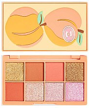 Parfüm, Parfüméria, kozmetikum Szemhéjfesték paletta - I Heart Revolution Mini Tasty Peach Eyeshadow Palette