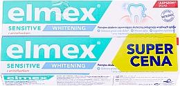Parfüm, Parfüméria, kozmetikum Készlet - Elmex Sensitive Whitening Toothpaste (toothpaste/2x75ml)
