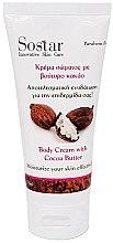 Parfüm, Parfüméria, kozmetikum Testkrém - Sostar Focus Moisturizing Body Cream With Cocoa Butter