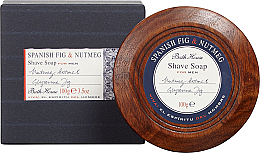 Parfüm, Parfüméria, kozmetikum Bath House Spanish Fig and Nutmeg - Borotvaszappan
