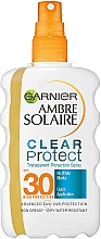 Parfüm, Parfüméria, kozmetikum Kétfázisú fényvédő spray SPF 30 - Garnier Ambre Solaire Clear Protect Spray SPF30