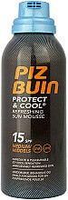 Parfüm, Parfüméria, kozmetikum Frissítő napozó mousse - Piz Buin Protect & Cool Refreshing Sun Mousse SPF15