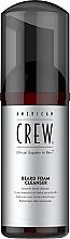 Parfüm, Parfüméria, kozmetikum Bajusz- és szakállformázó hab - American Crew Beard Foam Cleanser