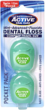 Parfüm, Parfüméria, kozmetikum Fogselyem, mentás, 12 m - Beauty Form Active Oral Care Dental Floss