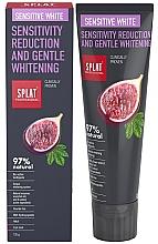 Parfüm, Parfüméria, kozmetikum Fogkrém - SPLAT Professional Bio Sensitive White Sensitivity Reduction & Gentle Whitening