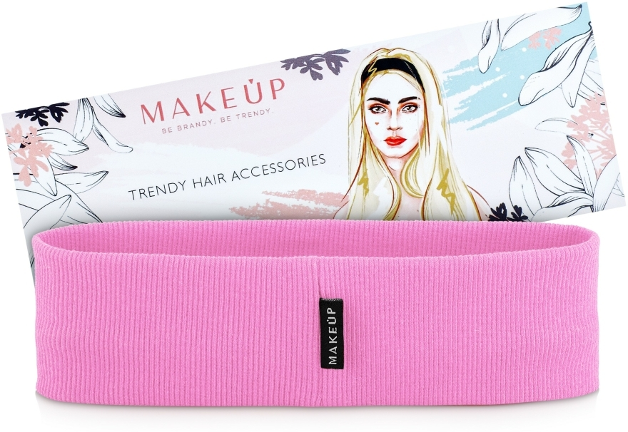 """Hajpánt """"Be Beauty"""", rózsaszín - MakeUp"""