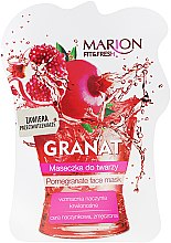 """Parfüm, Parfüméria, kozmetikum """"Gránátalma"""" arcmaszk - Marion Fit & Fresh Pomegranate Face Mask"""