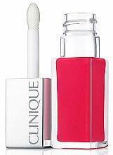 Parfüm, Parfüméria, kozmetikum Hosszantartó rúzs és ajakfény 2 az 1-ben - Clinique Pop Lacquer Lip Colour Primer