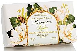 "Parfüm, Parfüméria, kozmetikum Natúr szappan ""Magnólia és hárs"" - Saponificio Artigianale Fiorentino Magnolia&Linden Soap"