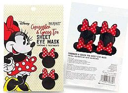 """Parfüm, Parfüméria, kozmetikum Szövetmaszk szemkörnyékre """"Uborka és zöld tea"""" - Mad Beauty Disney Minnie Mouse Sheet Eye Mask"""
