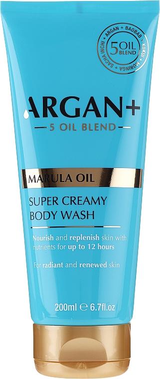Tusoló krém-gél - Argan+ Super Creamy Body Wash