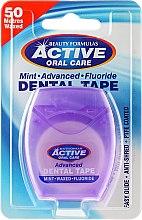 Parfüm, Parfüméria, kozmetikum Fogselyem mentával és fluorral - Beauty Formulas Active Oral Care Advanced Mint Waxed Fluor 50 m