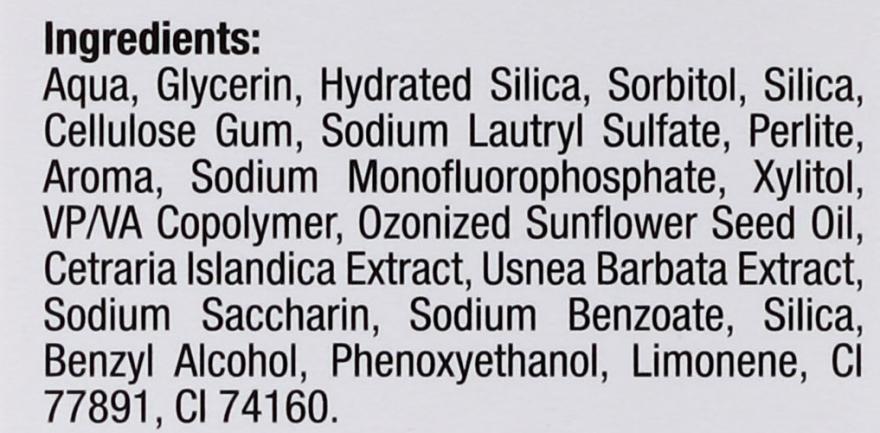 Fehírítő fogkrém - BlanX O3X Oxygen Power Pro Shine Whitening Toothpaste — fotó N4