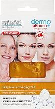 Parfüm, Parfüméria, kozmetikum Kollagén arcmaszk - Dermo Pharma Gold Anti-Aging Laser 24K