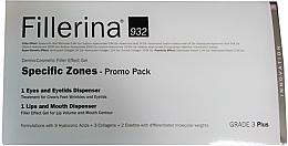Parfüm, Parfüméria, kozmetikum Készlet - Fillerina Grade 3+ (lips/gel/7ml + eye/gel/15ml)
