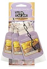 "Parfüm, Parfüméria, kozmetikum Autóillatosító ""Citrom levendulával"" - Yankee Candle Fluffy Lemon Lavender Jar Ultimate"