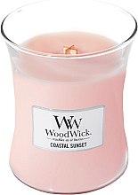 Parfüm, Parfüméria, kozmetikum Illatosított gyertya pohárban - WoodWick Hourglass Candle Coastal Sunset