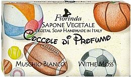 """Parfüm, Parfüméria, kozmetikum Természetes szappan """"Fehér pézsma """" - Florinda Sapone Vegetale Vegetal Soap White Moss"""