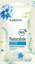 Parfüm, Parfüméria, kozmetikum Természetes szövetmaszk - Soraya Naturalnie Face Mask