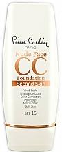 Parfüm, Parfüméria, kozmetikum CC krém - Pierre Cardin Nude Face CC Foundation Second Skin SPF 15